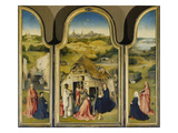Epiphany-Triptych (Opened)  1510