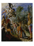 Stoning of St Stephen  about 1602-05
