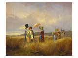The Sunday Stroll  1841