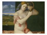 Junge Frau Bei Der Toilette  1515