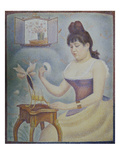 Young Woman Powdering Herself  1889/90