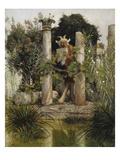 Idylle (Pan  Die Syrinx Blasend)  1875