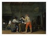Die Trictrac-Spieler  um 1635