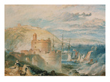 Falmouth Harbour  about 1825