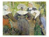 Breton Peasant Women (Les Quatre Bretonnes)  1886
