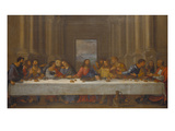 The Last Supper (Copy after Leonardo Da Vinci)