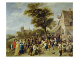 Peasants Merry-Making (Village Festival)  1637