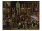 Ansicht Der Galerie des Erherzogs Leopold Wilhelm in Bruessel (I)