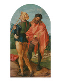 Jabach-Altarpiece: Piper and Drummer  1503/05