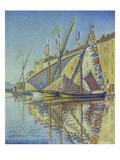 Sailboats in the Harbour of StTropez  1893