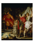 Mucius Scaevola before Porsenna  1621 (Rubens Together with A Van Dyck)