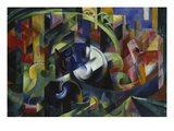 Painting with Cattle I  1913/1914