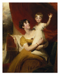 Lady Orde with Her Daughter Anne  1810/12
