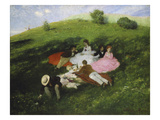 The Picnic  1873