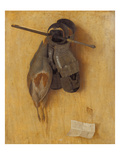 Still Life with Partridge  Armour Gloves and Crossbow Arrow  1504
