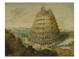 The Building of the Tower of Babel  1568