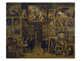 Archduke Leopold Wilhelm in His Picture Gallery in Brussels  about 1647