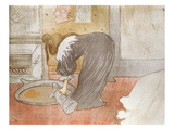 Woman at the Tub from &#39;Elles&#39;  1896