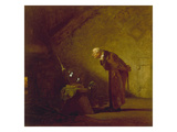 The Alchemist  about 1855/60