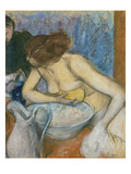 The Toilet  about 1897