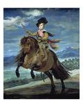 Prinz Balthasar Carlos Zu Pferde