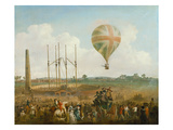George Biggin's Ascent in Lunardi's Balloon  1785