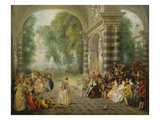The Pleasures of the Ball  1715/16