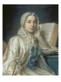 Mademoiselle Ferrand Meditiert Ueber Newton
