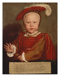 Edward  Prince of Wales  Later Edward Vi of England  1539