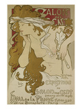 Poster for the Xv Exhibition of Salon des Cent 1896