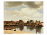 View of Delft  about 1660