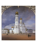 Panorama of the Kremlin  1839 Centre Panel of the Triptych