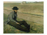 Portrait of Eugene Manet