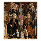 Kirchenvaeteraltar Mittelteil Innen: die HllAugustinus Und Gregor