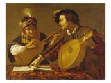 Das Musizierende Paar (Kopie)