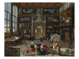 A Collector's Gallery (Realised with Cornelis De Baellieur)