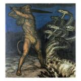 Herkules Und Die Hydra  1915