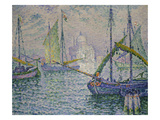Venice with Sailboats (Le Redempteur)  1908