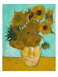 Vase with Sunflowers  1888