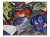 Red and Blue Horse  1912