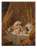 La Gimblette (Girl with Her Dog)  about 1770