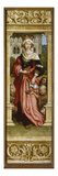 Sebastian Altarpiece Interior of Right Wing: St Elizabeth with Three Beggars  1516