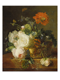 Basket of Flowers (Undated)