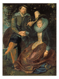 Rubens Und Isabella Brant in a Honeysuckle Bower  about 1609