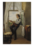 The Violinist at the Window  1861