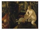 Susanna Bathing  about 1555/56
