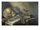 Vanitas Still Life   1656