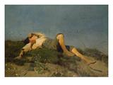 A Shepherd Boy  1860