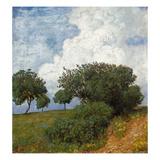 Landschaft Mit Wolke  1893