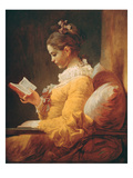 Young Girl Reading  about 1776